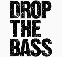 DROP THE BASS (black) Womens Fitted T-Shirt