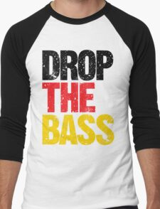 DROP THE BASS (Germany) Men's Baseball ¾ T-Shirt