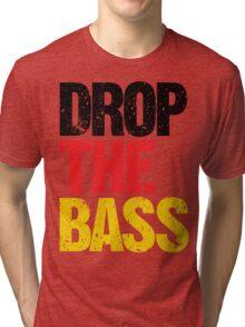 DROP THE BASS (Germany) Tri-blend T-Shirt