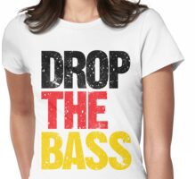 DROP THE BASS (Germany) Womens Fitted T-Shirt