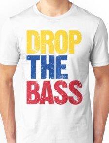 DROP THE BASS (Colombia) Unisex T-Shirt