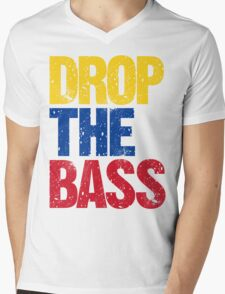 DROP THE BASS (Colombia) Mens V-Neck T-Shirt