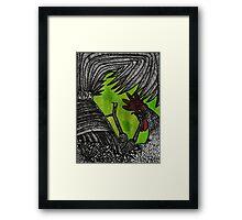 Silencing DAWN Framed Print