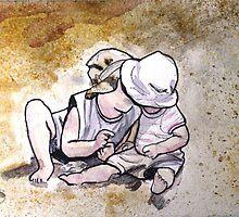 Sibling Love by DebbieJune