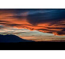 Spring Sunset 2 Photographic Print