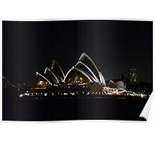 Opera House - Australia Day 2013 Poster