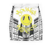Hand A Nice Day by Young Heroics Mini Skirt