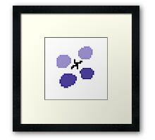 CrackedComms Framed Print