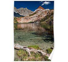 Bull Lake & Chocolate Peak Poster