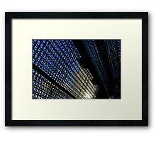 Japan Reloaded - Kyoto Station Framed Print
