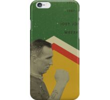 Joey Jones - Wrexham iPhone Case/Skin