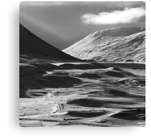 Drumochter - Light And Shadow Canvas Print