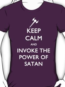 Melvin's Invoking the Power of Satan Again T-Shirt