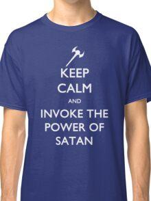 Melvin's Invoking the Power of Satan Again Classic T-Shirt