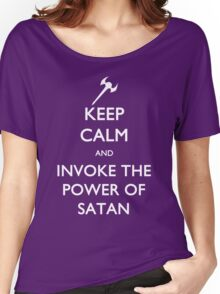 Melvin's Invoking the Power of Satan Again Women's Relaxed Fit T-Shirt