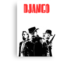 Django Unchained illustration  Canvas Print