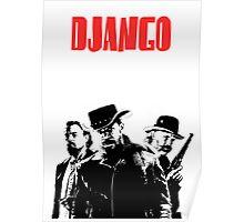 Django Unchained illustration  Poster
