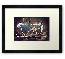 Depths of Imagination Framed Print