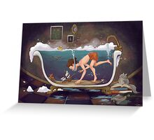 Depths of Imagination Greeting Card