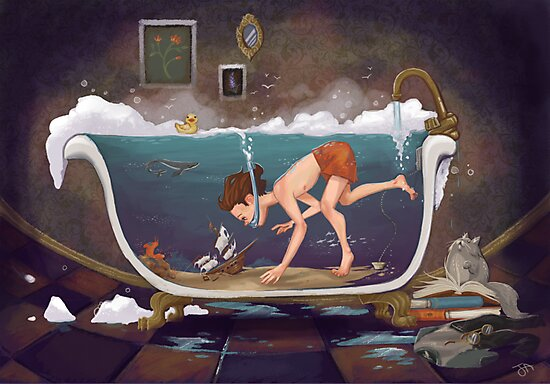 Depths of Imagination by Audra Auclair
