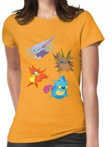 Golden sun - Djinns Womens Fitted T-Shirt
