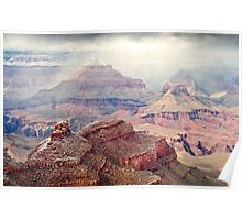 Misty Grand Canyon Poster