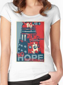 Hope - No Hope..Exterminate Women's Fitted Scoop T-Shirt