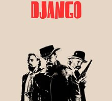 Django Unchained illustration Wild West Style Poster Unisex T-Shirt