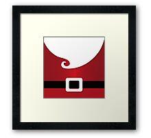 Hello Santa Framed Print