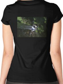 Synchronised Swimming Women's Fitted Scoop T-Shirt