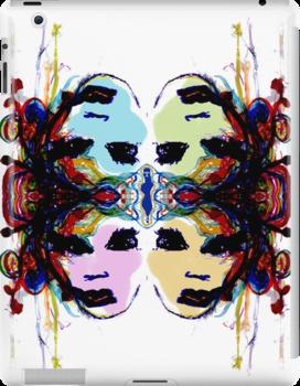 The Gemini Faces by Alyssa Pyritz