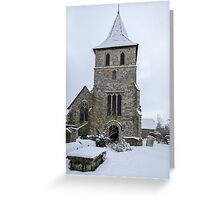 Detling Church Greeting Card