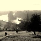&quot; Walkers On Richmond Hill (Winter 2012) &quot; by Richard Couchman