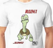 Zombie-turtle RUN! Unisex T-Shirt