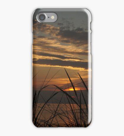 Sunset at Silver Beach iPhone Case/Skin