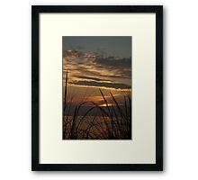 Sunset at Silver Beach Framed Print