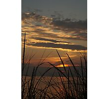 Sunset at Silver Beach Photographic Print