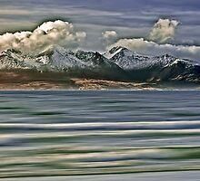 Snow Capped Arran Digital Art by David Alexander Elder