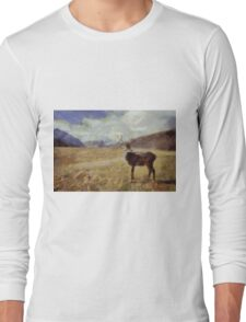 Lady of the Glen by Pierre Blanchard Long Sleeve T-Shirt