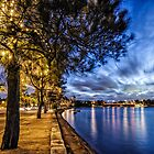 Relaxed warm summers night out on the bay by Adriano Carrideo