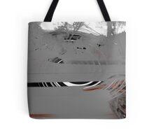 Bird Distortion Tote Bag