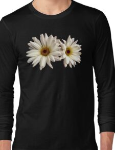 Pair of White Daisies Long Sleeve T-Shirt