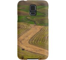 Palouse Meanders Samsung Galaxy Case/Skin