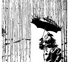 toxic rain     Photographic Print