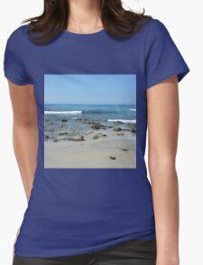 California Beach Womens Fitted T-Shirt