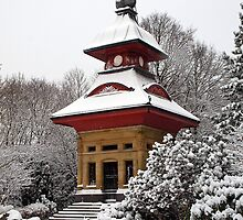 Observatory in The Snow by Paul Barnett