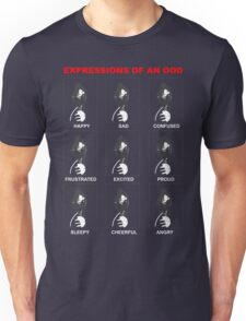 Expressions of an Ood Unisex T-Shirt