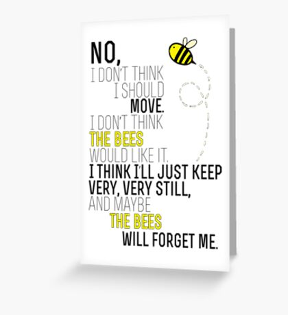 Lots and Lots of Bees! Greeting Card