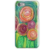 Sunshine, Lollipops and Rainbows - Right panel iPhone Case/Skin
