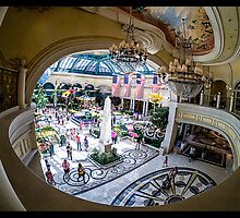 Bellagio Conservatory and Botanical Gardens by Edward Fielding